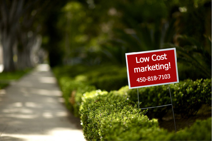 Five Reasons to use lawn signs advertising